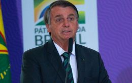 "Bolsonaro said he ""deeply regrets the lives of Argentine children,"" saying they are now ""exposed to being cut from their mothers' wombs with the consent of the State"""