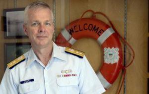 Vice-Admiral Steven Poulin, Commander Coast Guard Atlantic Zone
