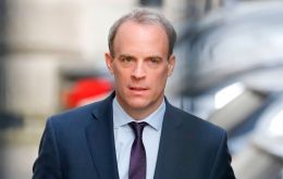 Ensuring border fluidity is in the best interests of people living on both sides, Foreign Secretary Dominic Raab pointed out