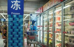 China accelerated the disinfection and testing of viruses in frozen foods after finding the coronavirus in imported products and packaging