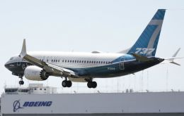 The settlement includes a criminal fine of US$ 243.6 million and compensation payments to Boeing's 737 MAX airline customers of US$ 1.77 billion