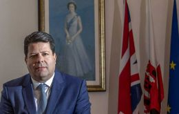 "Fabian Picardo QC MP said: ""The arrival of this vaccine is a demonstration of our work with the FCDO and MoD as part of the British family of nations""."