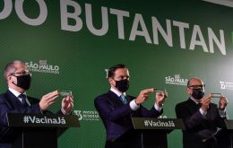Instituto Butantan responsible for developing the vaccine and conducting trials in the country, announced last week the vaccine had a 78% overall efficacy