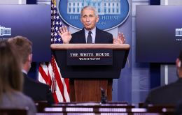 Dr. Anthony Fauci said the U.S. would fulfill its financial obligations to the United Nations health agency and maintain its previous staffing commitments