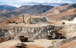 CAEM expressed concern over operations in the southern Chubut province, which hosts copper and silver-lead projects as Pan American Silver's Navidad project