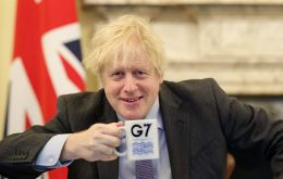 UK Prime Minister Boris Johnson will use the first in-person G7 summit in almost two years to ask leaders to seize the opportunity to build back better from coronavirus