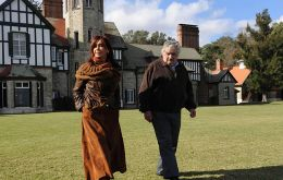 Mujica with his good friend Cristina Fernandez