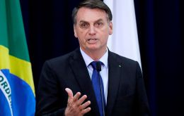 "Last week cyclothymic president Bolsonaro when pressured by followers for more funds replied that the Treasury was ""broke."" Photo: Reuters"
