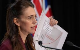 PM Jacinda Ardern said the document, which will now go out for public consultation, showed the impact of the reforms would not be an economic burden. (Pic AFP)