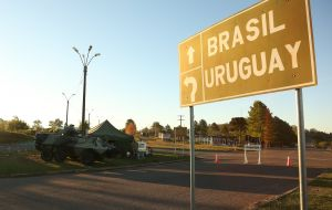 Brazil has started vaccination in urban areas along the Uruguayan/Brazilian border, which have been hotspots of Covid-19, and has forced Uruguay to establish sanitary and military contention