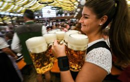 Major events and festivals where large amounts of beer are usually consumed, including Oktoberfest, were canceled.