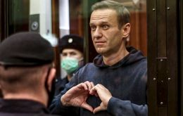 The ruling on Navalny comes after a tense hearing at a Moscow courthouse. Navalny slammed the process as an attempt to silence him.