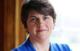 "Northern Ireland's First Minister and DUP leader Arlene Foster warned that the Northern Ireland Protocol - the arrangements for the Irish border - ""cannot work"" and must be replaced."