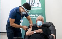 """I want to tell all my compatriots that this vaccine is safe, it is effective, and we have made an enormous effort to be able to vaccinate all Chileans,"" Piñera said"