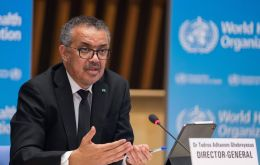 """Some questions have been raised as to whether some hypotheses have been discarded...."", said WHO chief Tedros"