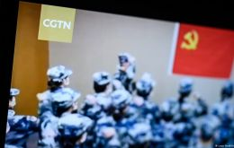 According to an agreement among EU countries, CGTN's license in Germany had been approved by Ofcom as part of a license sharing initiative.