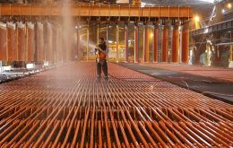 According to the Chilean Copper Commission, Cochilco, the annual average of copper rose to US$ 3,66, well above the US$ 2,88 of the 2021 national budget