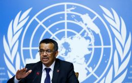 WHO director-general Dr. Tedros made the plea as China hashes out agreements across Africa, and Russia distributes shots in Latin America