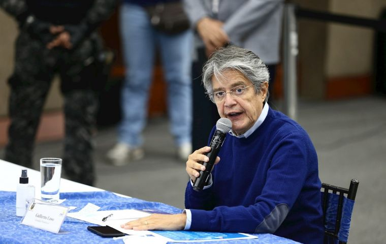 Guillermo Lasso will dispute the presidential runoff next April after coming in second place in the fiercely disputed February 7 election