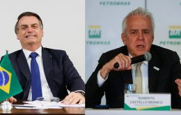 The leadership change at Petrobras followed a feud with Bolsonaro over fuel prices after Petrobras adjusted them to align with international rates