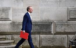 On China, Mr Raab will refer to reports of abuses in Xinjiang, including torture, forced labor and forced sterilization of women