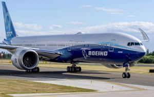 """We recommended suspending operations of the 69 in-service and 59 in-storage 777 aircraft powered by Pratt & Whitney 4000-112 engines,"" Boeing said."