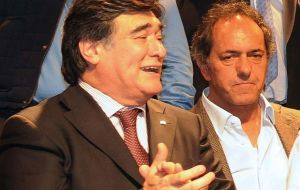 Likewise Carlos Zannini, currently the Treasury Attorney, and one of the most trusted men of ex president Cristina Fernandez de Kirchner