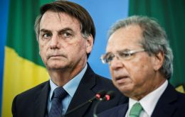 """Paulo Guedes is an anchor for our government,"" Bolsonaro said at a ceremony in Brasilia marking the signing into law of central bank autonomy."