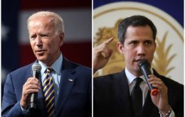 Biden's administration has made clear it will continue to recognize opposition leader Juan Guaido as Venezuela's interim president