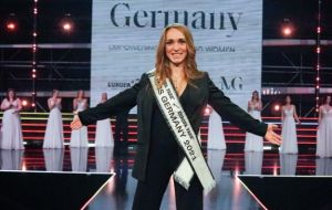 Empowered Miss Germany 2021, Anja, 33 and mother of two ...