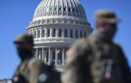 "US police on Wednesday said they have enhanced security after intelligence uncovered a ""possible plot"" to breach the US Capitol on March 4"
