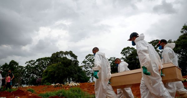 Brazil overtakes US in daily Covid-19 deaths, 2,286 on Wednesday