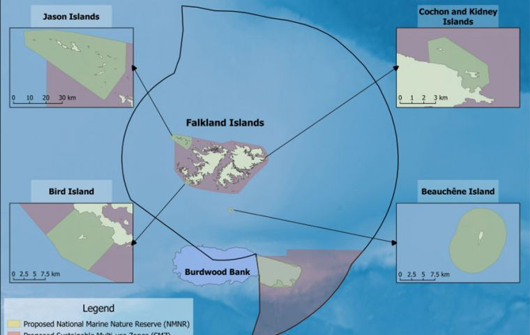 Proposed Marine Management Areas – Falkland Islands Government Executive Council
