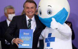 Bolsonaro diz que fará de 2021 o ano das vacinas (Pic AP)