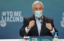 """This has been a very difficult decision,"" said Piñera."