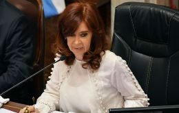 CFK and her children are to be presumed innocent, the judges said.