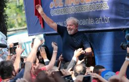 "Lula said he'd run for office ""if necessary to beat a fascist-like Bolsonaro."""