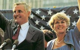 Mondale was also the first presidential candidate to pick a woman as his running partner