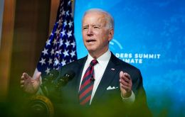 """This is the decade in which we must make decisions that will avoid the worst consequences of the climate crisis,"" Biden said."