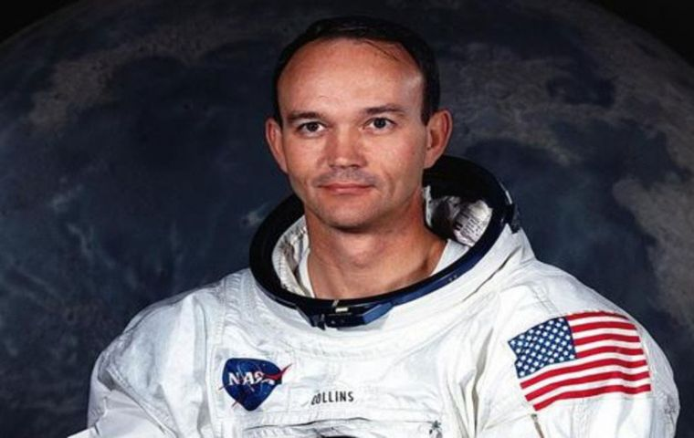 Michael Collins was part of the three-man Apollo 11 crew that succeeded at landing on the Moon, on July 20, 1969.