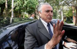 """We are trying to save lives,"" said Temer regarding the joint development of vaccines between Chinese laboratories and the Butantan Institute in Sao Paulo"