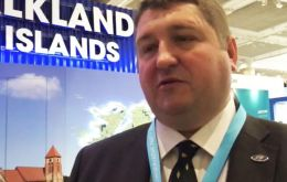 "'Essentially I want to see Falkland Islanders encouraged to remain in the Islands and Falkland Islanders overseas to want to return"" said MLA Pollard"