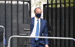 """The EU ambassador will have a status consistent with heads of missions of states,"" Raab explained."