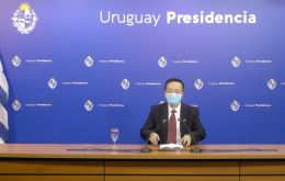 China is since 2012 Uruguay's main trading partner, said Wang Gang.