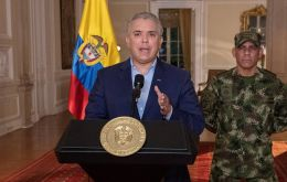 President Duque offered 10 million pesos (2,600 dollars) for effective collaboration to identify and arrest perpetrators of the riots