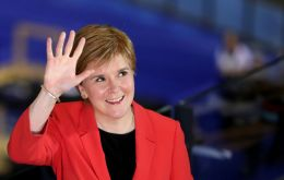 "First Minister Sturgeon has vowed that ""when the crisis has passed, it is to give people in Scotland the right to choose their future"" and vote again on independence."