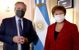 Fernández said Georgieva understands what goes on in Argentina