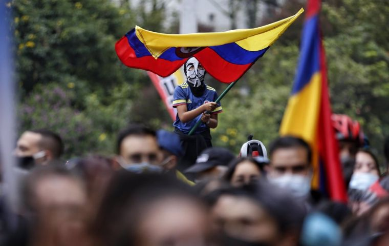 The CNP claims the Colombian government was against attending to the various demands and preferred to quash them through force