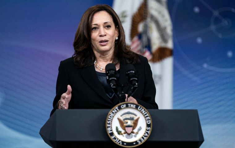 """""""We have to give people a sense of hope,"""" said Harris"""