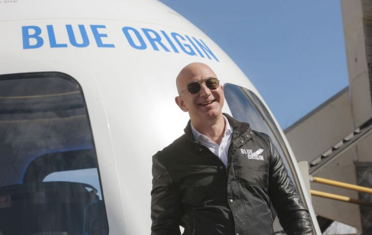 """""""Ever since I was five years old, I've dreamed of travelling to space. On July 20, I will take that journey with my brother,"""" probably the richest man on Earth"""